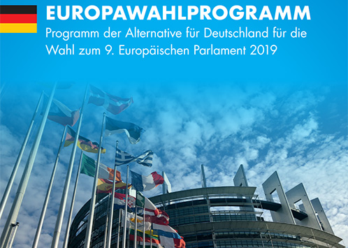 AfD Alzey-Worms Europawahlprogramm Titel